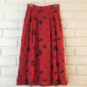 Vintage   Christmas Toy Skirt